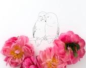 Lovebirds No. 2