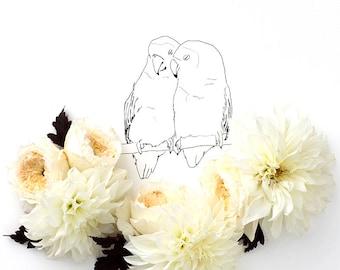 Lovebirds No. 1