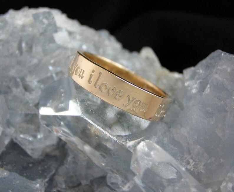 Ho'oponopono Ring  14K Gold  Narrow image 0