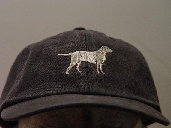 ebb5d243706 Yellow Labrador Retriever Dog Hat One Embroidered Men Women