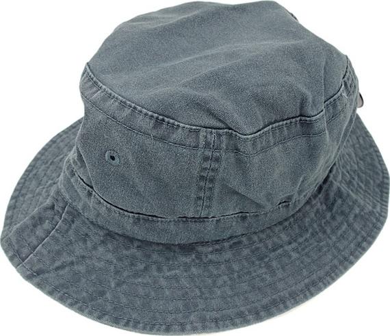 b3bcf347d33 NAVY BLUE XL Bucket Hat Women or Men Adams Cap Price