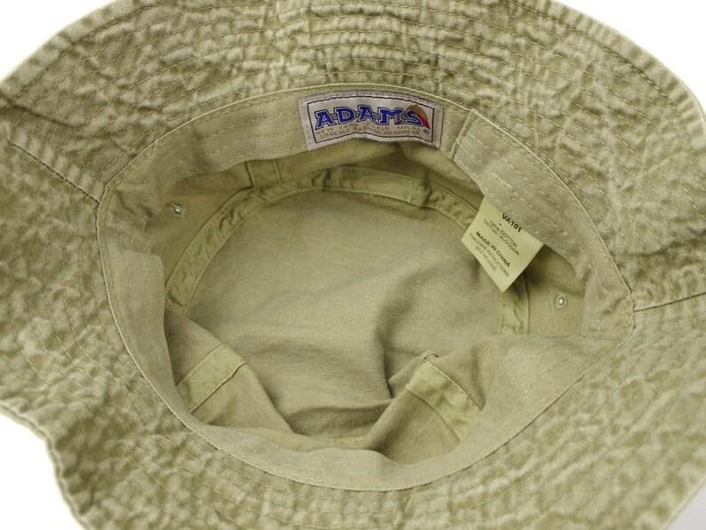 a36e1f120f8f42 STRIPED BASS XL Fishing Bucket Hat Embroidered Striper Fish | Etsy
