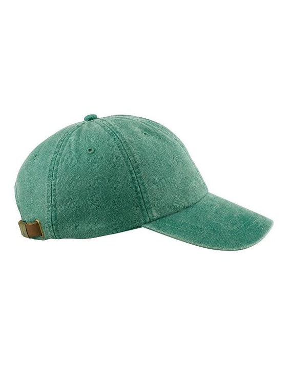 FOREST GREEN HAT - One Women or Men Adams Baseball Cap - 24 Color Hats  Available - Price Apparel Embroidery 2487af803a8