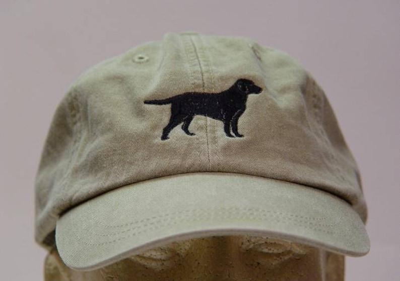 49b7de88562 Black Labrador Retriever Dog Hat One Embroidered Men Women