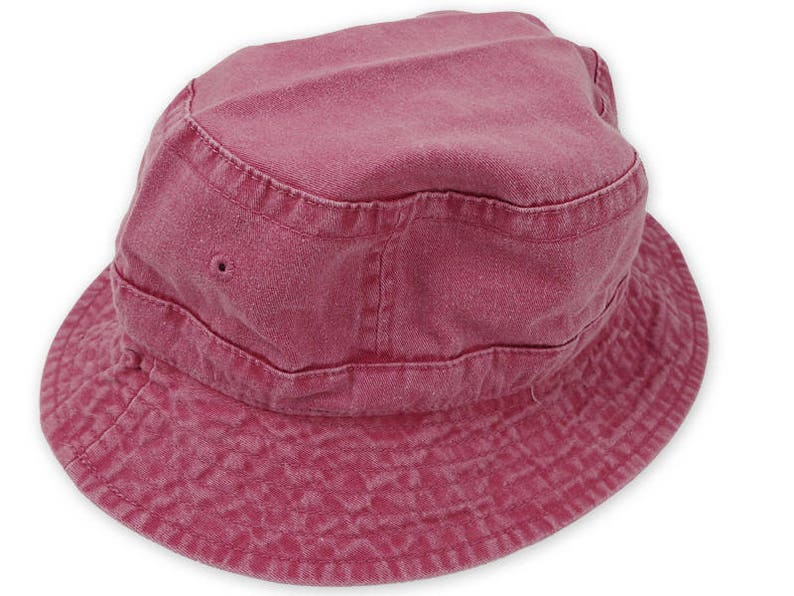 566735ee42e NAUTICAL RED XL Bucket Hat Women Men Adams Bird Watcher Golf