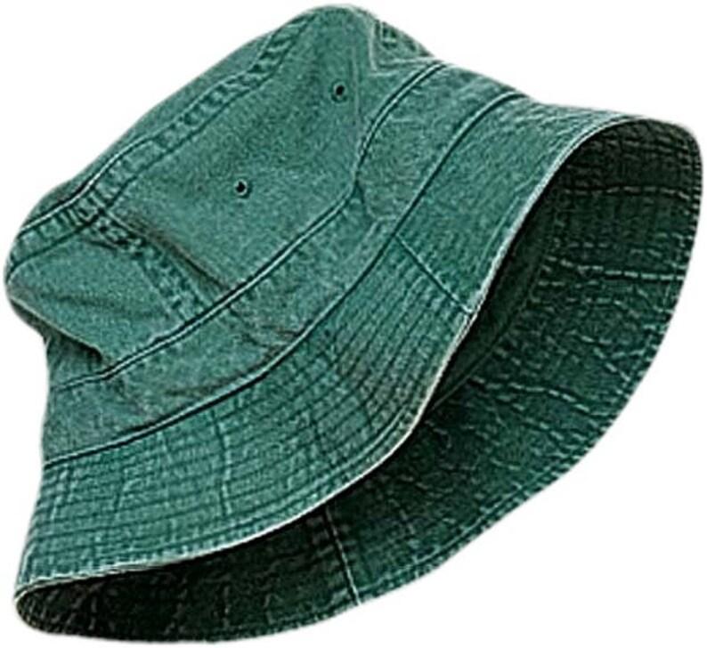 a97800f7182 FOREST GREEN XL Bucket Hat Women Men Adams Garden Golf Beach