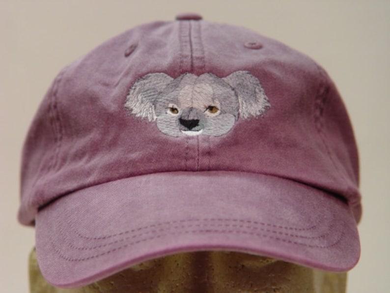 KOALA HAT One Embroidered Men Women Wildlife Baseball Gift Cap  ab8aff282c05