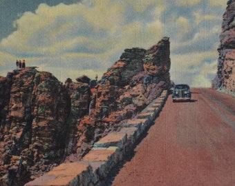 Colorado Early 1900\u2019s Postcard AntiqueVintage Trail Ridge Road