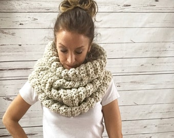 Infinity Scarf Cowl   STYLE #1036