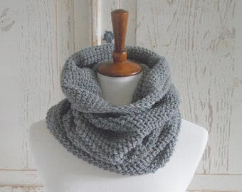 Infinity Scarf Cowl | Heather Gray