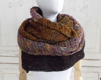 Merino Wool Triangle Wrap