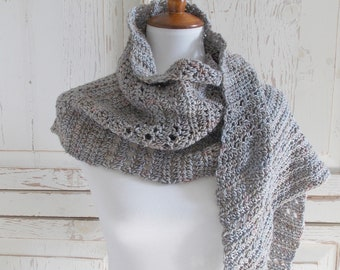 Merino Wool Wrap Shawl