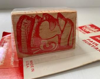Vintage Boy Scouts Carving Project Paul Bunyan