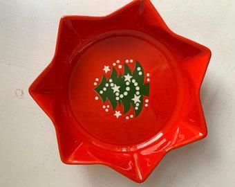 Waechtersbach serving bowl star shaped Germany