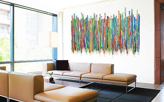 Modern Wall Sculpture Abstract Art Original Sculpture | Etsy