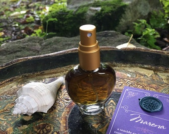 MARENA Botanical Eau de Parfum~ Citrus & Exotic Florals over Vanilla, Sandalwood, Amber, and Botanical Ambergris ~ All Natural Fragrance