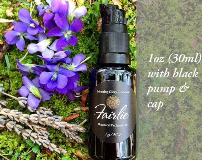 FAIRLIE Botanical Perfume Oil ~ Violet Leaf, Mimosa, Jasmine Sambac, Pink Lotus & Moss ~ green, subtle floral notes, earthy, woody, unisex