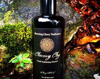 Cleansing Clay ~ Gentle Daily Cleanser for All Skin Types, Exfoliating Clays, Healing Salts, Botanical Powders, Warming Spices, Vitamin C