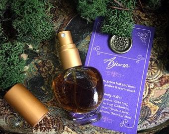 ARJUNA Botanical Eau de Parfum~ Bergamot, Green Leaf & Moss over Precious Woods, Smoky Amber, Vanilla and Warm Musk  ~ All Natural Fragrance