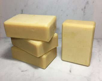 Lemongrass Buttermilk Milkmade Soap, Creamy Buttermilk, Organic Lemongrass Essential Oil, Silky Lather, Great for Sensitive Skin