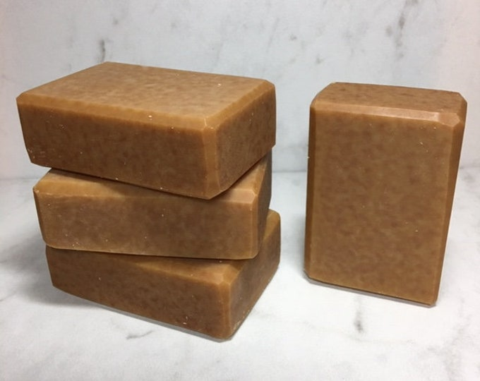 Lemongrass Green Tea Artisan Goat Milk Soap, Organic Lemongrass Essential Oil, Luxurious Silky Lather, Kaolin Clay, All Natural Soap