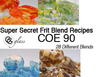 GG Glass coe 90 Frit Blend Recipe eBook
