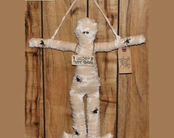 Halloween Mummy Doll