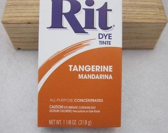 Mandarino arancia Rit colorante in polvere
