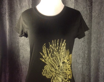 Lionfish Black T-Shirt