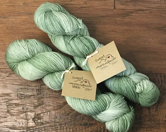 Sagebrush- Hand-dyed Yarn *Ready to Ship*