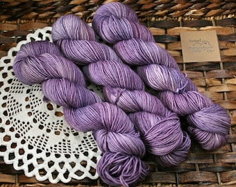 Purely Purple DK weight Yarn *Ready to Ship*