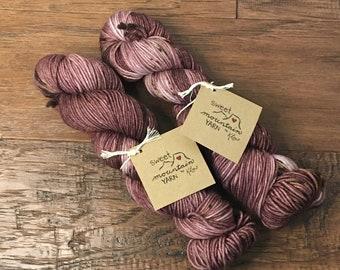 Grandma's Teacup Hand-dyed Yarn *Ready to Ship*
