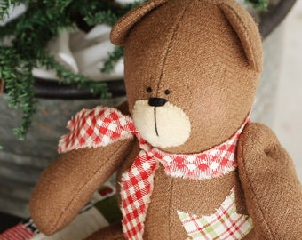Brown Sugar Bear Pattern- Download