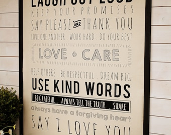 PRE-ORDER- Use Kind Words Panel