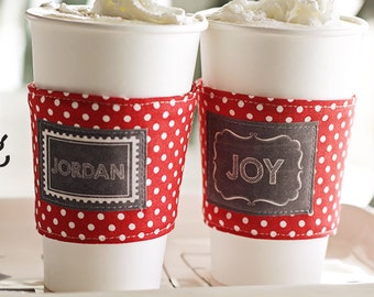 Christmas Cup Cozy- Download Pattern