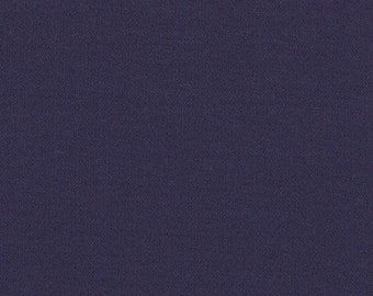 1 Yard Bella Solid Fabric in American Blue