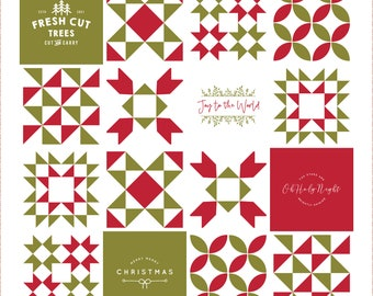 PRE-ORDER- Very Merry Quilt Kit