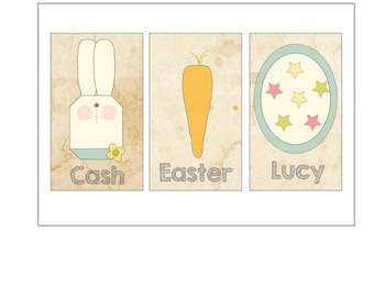 Custom Easter Tag Labels