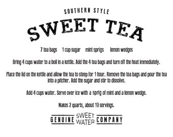 Sweetwater Ink- Sweet Tea