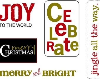 Holiday Little Labels