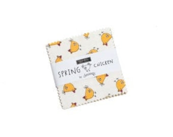 Spring Chicken Mini Charm Pack (Pre-Order)