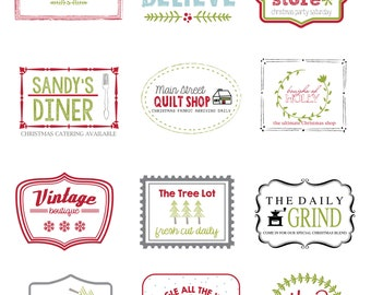 Holly's Mini Labels