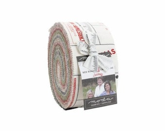 Red Barn Christmas Jelly Roll (Pre-Order)