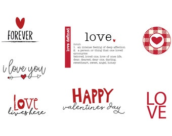 Love Defined Labels (Customizable)