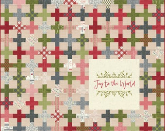 PRE-ORDER- Joy To The World Fabric