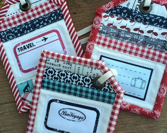 Luggage Tags Pattern