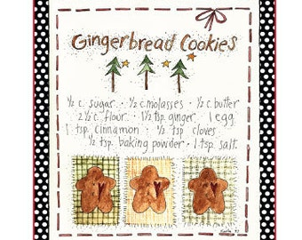 Gingerbread Label