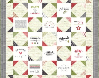PRE-ORDER- Christmas Card Quilt Kit
