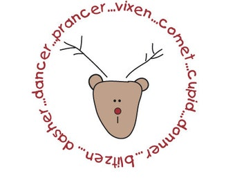 Reindeer  Label