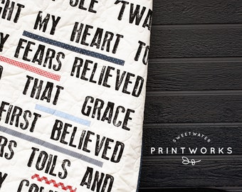 PRE-ORDER- Amazing Grace Panel